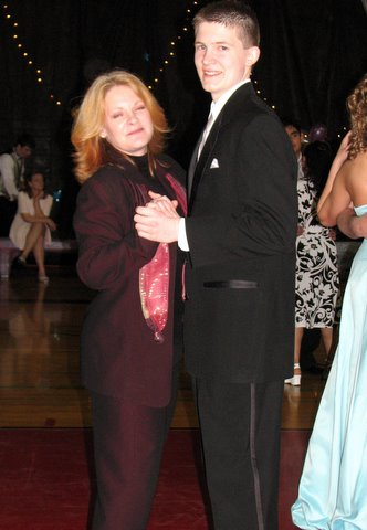 Mother & Son Dance at the Senior Prom May 2007